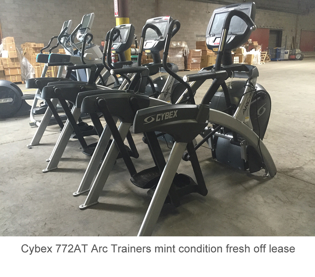 Cybex 772AT Arc Trainers mint condition fresh off lease