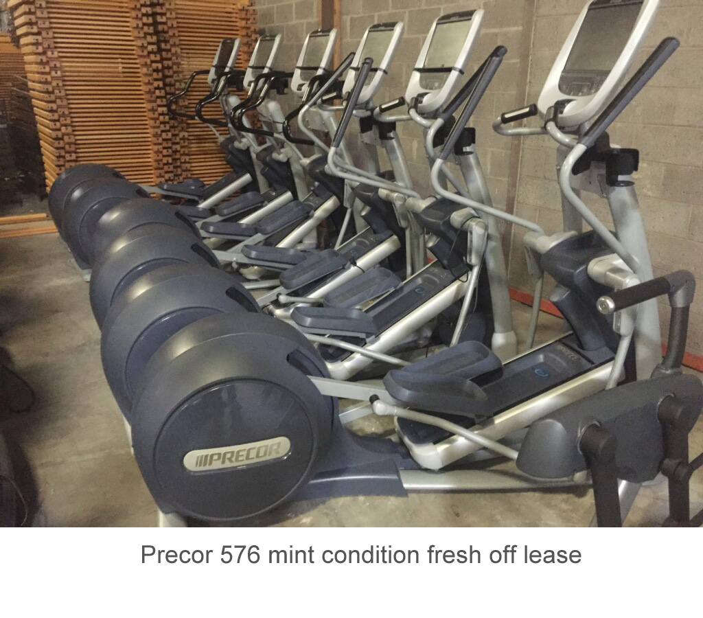 Precor 576 mint condition fresh off lease