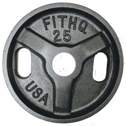 25 Lb  USA Cast Olympic Plate